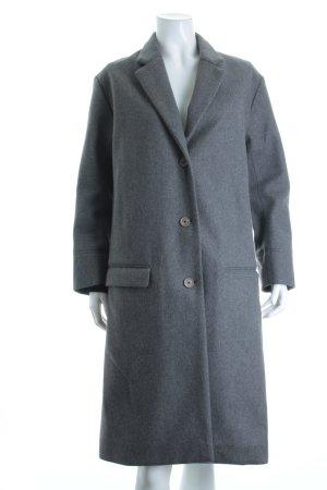 Lacoste Mantel grau meliert klassischer Stil