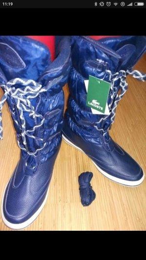 Lacoste  Neue Winter Stiefel blau, Gr.38
