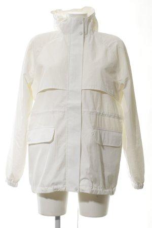 Lacoste Oversized Jacke wollweiß Street-Fashion-Look