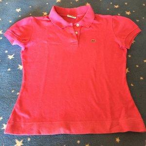 Lacoste pinkes Polo-Shirt