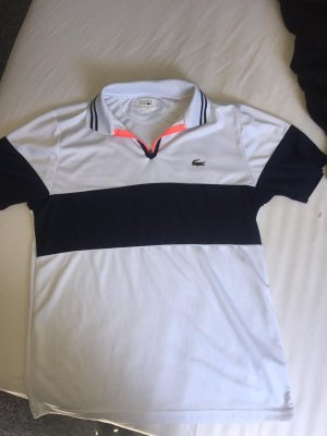 Lacoste Polo Shirt white-blue