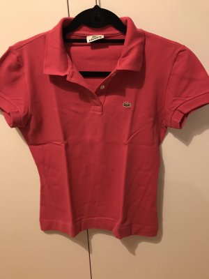 Lacoste Polo rouge framboise