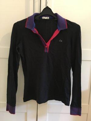 Lacoste Polo Langarm Shirt mit Kragen