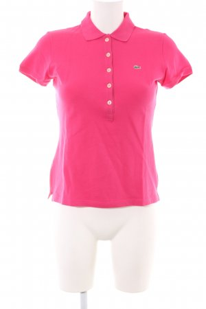 Lacoste Polo-Shirt pink Casual-Look