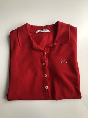 Lacoste Polo rouge