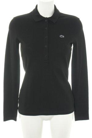 Lacoste Polo-Shirt schwarz Casual-Look
