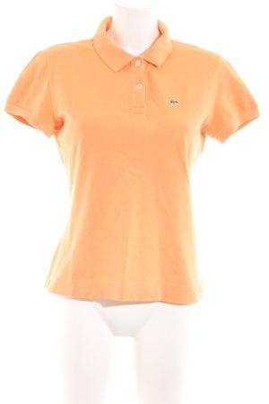 Lacoste Polo arancione chiaro stile casual