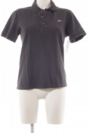 Lacoste Polo-Shirt anthrazit Casual-Look