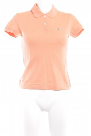 Lacoste Polo-Shirt apricot Casual-Look