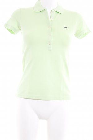 Lacoste Polo-Shirt blassgrün Casual-Look
