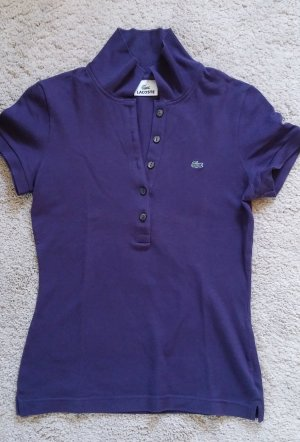 Lacoste Polo-Shirt blau Gr. 36, S, wie NEU, lila, T-shirt, Top, Polo