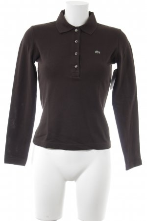 Lacoste Polo-Shirt braun-waldgrün Casual-Look