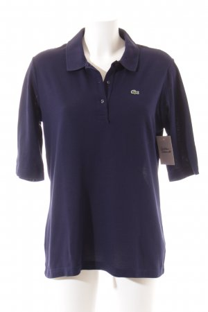 Lacoste Polo-Shirt dunkelblau Casual-Look