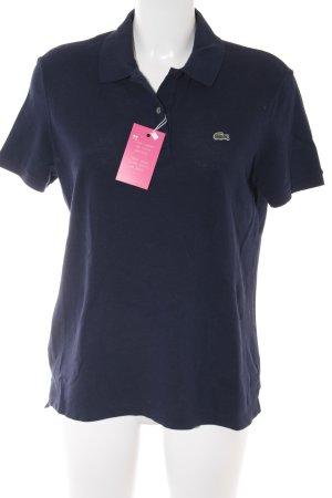 Lacoste Polo-Shirt dunkelblau Casual-Look