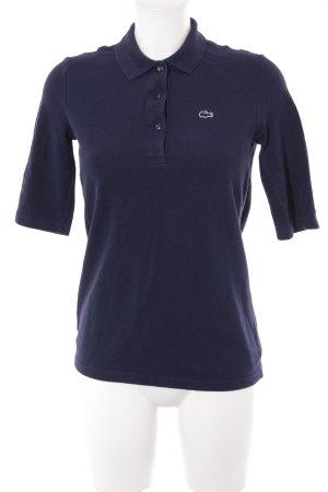 Lacoste Polo-Shirt dunkelblau klassischer Stil