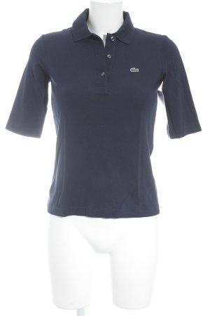 Lacoste Polo-Shirt dunkelblau schlichter Stil