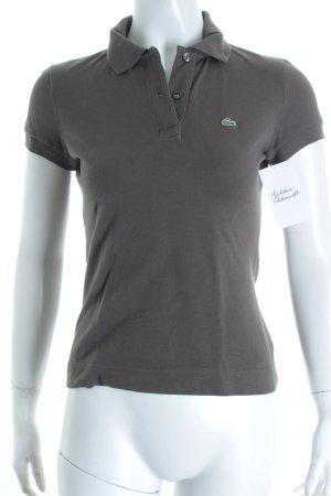 Lacoste Polo-Shirt dunkelbraun schlichter Stil