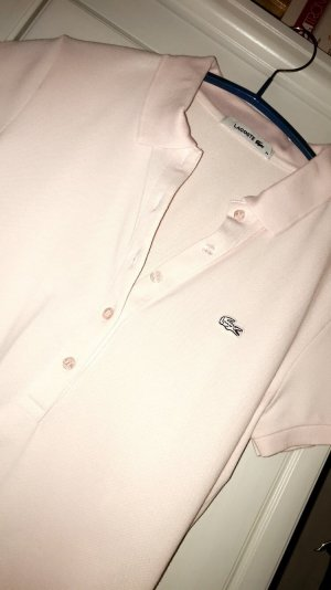Lacoste Camiseta tipo polo rosa empolvado