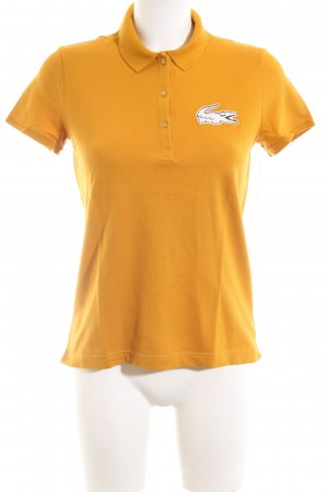 Lacoste Polo-Shirt Motivdruck sportlicher Stil