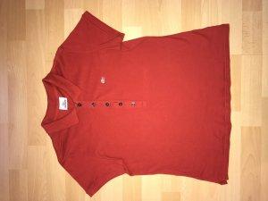 Lacoste Polo rouge coton