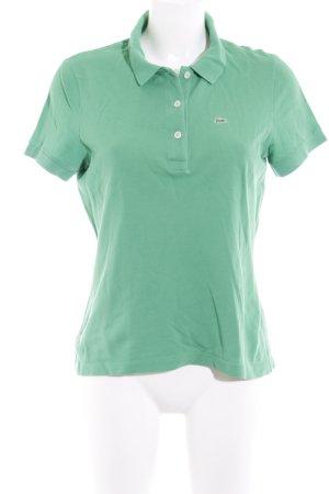 Lacoste Polo-Shirt grasgrün klassischer Stil