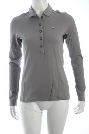 Lacoste Polo-Shirt grau Casual-Look