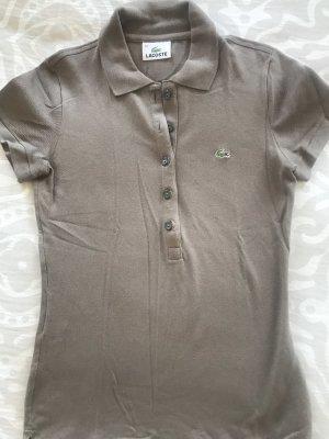 Lacoste Polo Shirt grey brown