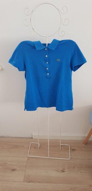 Lacoste Polo Shirt, Größe 40, blau