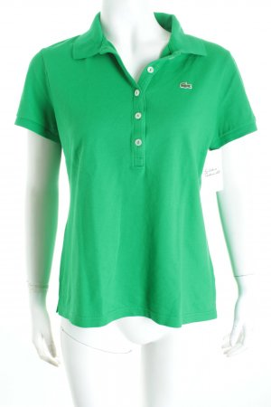 Lacoste Polo-Shirt grün Casual-Look