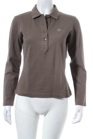 Lacoste Polo-Shirt grüngrau Casual-Look