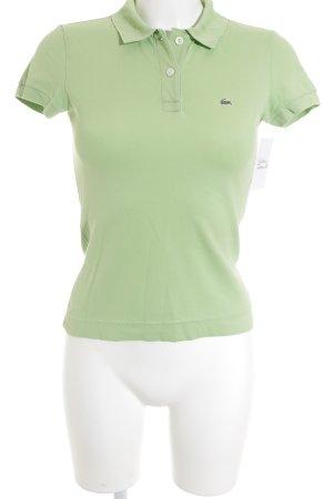 Lacoste Polo-Shirt hellgrün sportlicher Stil