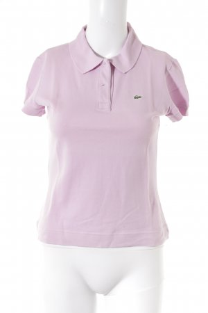 Lacoste Polo-Shirt hellrosa Casual-Look