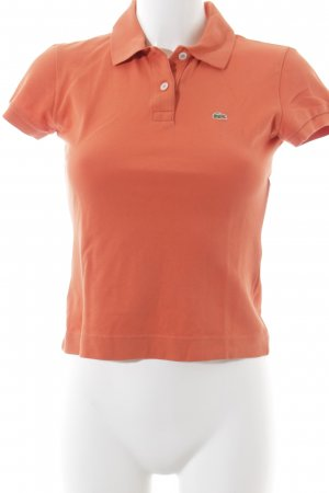 Lacoste Polo-Shirt hellrot Casual-Look
