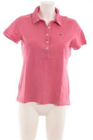 Lacoste Polo-Shirt himbeerrot Casual-Look