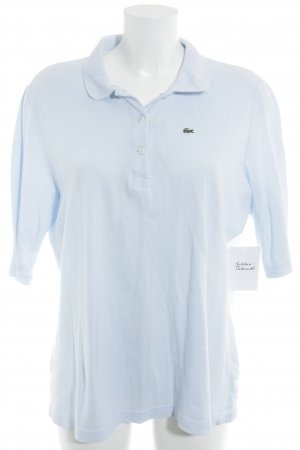 Lacoste Polo-Shirt himmelblau Casual-Look