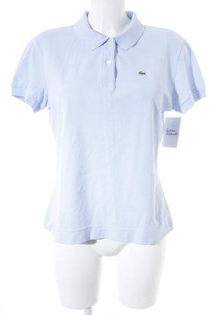 Lacoste Polo-Shirt himmelblau Casual-Look