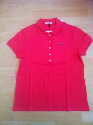 LACOSTE Polo Shirt in strahlendem Pink !