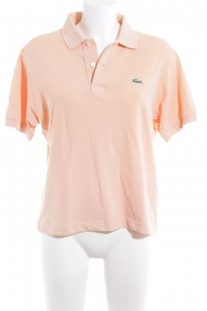 Lacoste Polo-Shirt nude Casual-Look