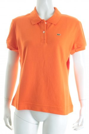 Lacoste Polo-Shirt orange sportlicher Stil