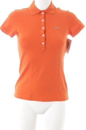 Lacoste Polo-Shirt orange sportlicher Stil