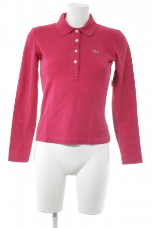Lacoste Polo-Shirt pink-waldgrün Casual-Look