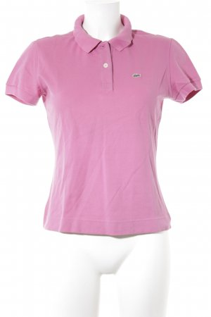 Lacoste Polo-Shirt rosa Casual-Look