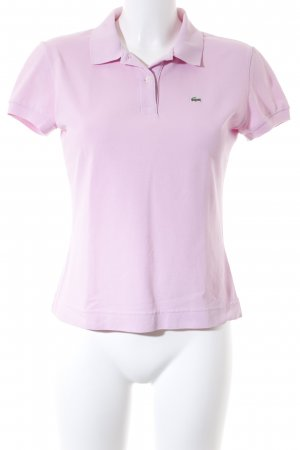 Lacoste Polo-Shirt rosa-grün Casual-Look