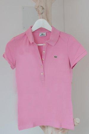 Lacoste Polo-Shirt rosa/pink Größe 38