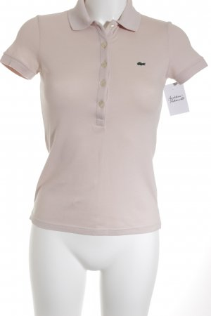 Lacoste Polo-Shirt rosé Business-Look