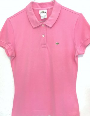 Lacoste Polo-Shirt rosé Casual-Look
