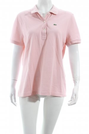 Lacoste Polo-Shirt rosé schlichter Stil