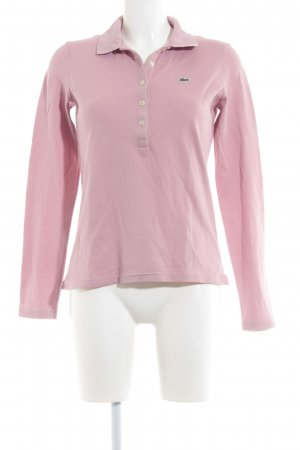 Lacoste Polo-Shirt roségoldfarben Casual-Look