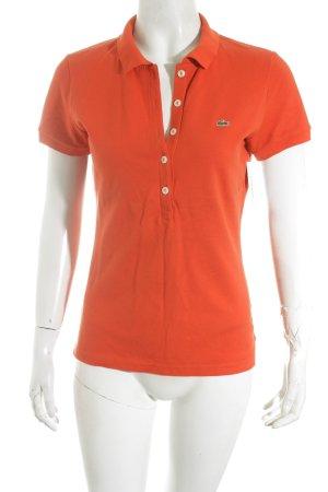 Lacoste Polo-Shirt rot klassischer Stil