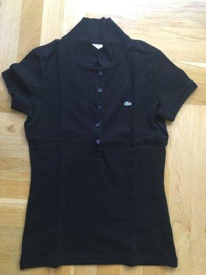 Lacoste Polo Shirt, schwarz, Gr. 36